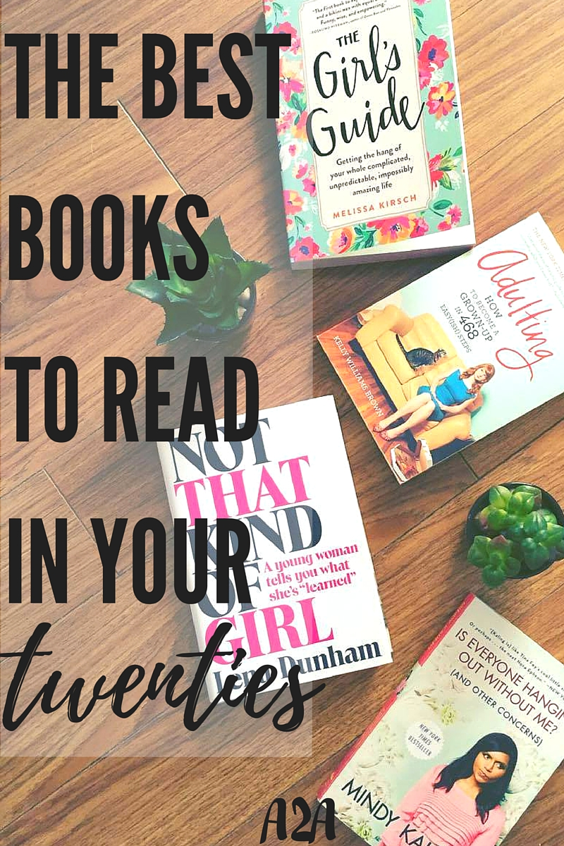 the best books to read in your twenties   adjusting to